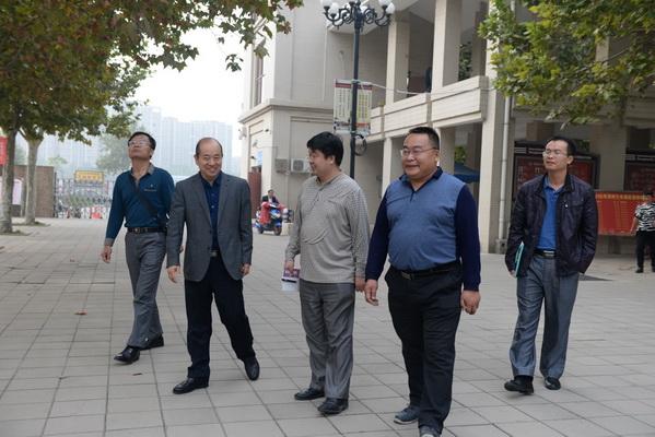 郑州七中迎接海南省农垦实验中学考察团